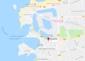 velo emeraude partenariat avec hotel ibis de saint-Malo pour la location de velo